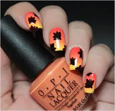 and easy thanksgiving nail tutorials