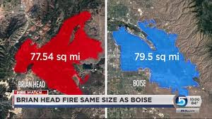 Wild Fire Brian Head Utah by Brian Head Fire Grows As Red Flag Warning Continues Youtube