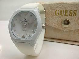 Jam Tangan Alba Putih jam tangan gc rubber cewek