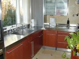 Steel Kitchen Cabinets Gorgeous Stainless Steel Kitchen Cabinets My Home Design Journey