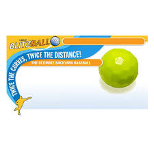 amazon com blitzball plastic baseball and bat and ball combo set