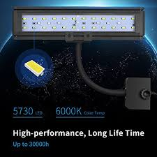 30 led aquarium light aqqef led aquarium light 30 led fish tank light strip with clip