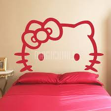 Headboard Wall Sticker by Hello Kitty White Headboard Wall Decals Wall Stickers Canada