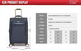 New promotional boarding trolley bag cabin size travel luggage bag