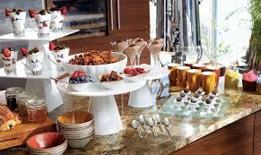 porcelain risers roselli display buffet