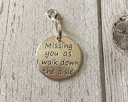 in loving memory charms bridal charm bouquet charm memorial pin of the