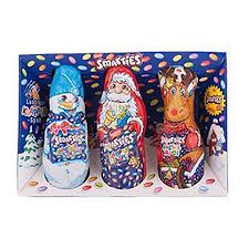 christmas chocolates smarties filled christmas chocolates