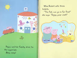 Peppa Pig 2017 Book Scholastic Canada Peppa Pig Peppa Visits The Aquarium