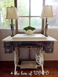 White Sewing Machine Cabinet by White Sewing Machine Treadle Sewing Cabinet Crafts Pinterest