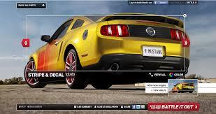 2015 mustang customizer ford mustang customizer website cartype