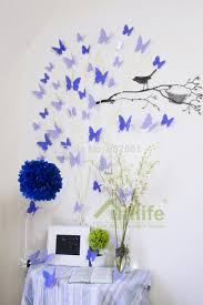 popular amazon wall stickers buy cheap amazon wall stickers lots funlife big combo lavender purple butterfly crafts mural decals wall stickers home decor adesivo de parede