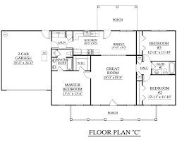 Single Story Four Bedroom House Plans 4 Single Story Open Floor Plans House Design One Extraordinary