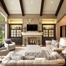 Bookshelf Around Fireplace Living Design Ideas Fireplace With Traditional Built In Tv Cabinet