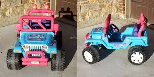 jeep wreath theme barbie jeep makeover before crazy wonderful