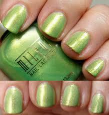 paillette a little nail polish journal milani gold part 2