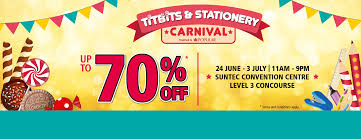 popular titbits u0026 stationery carnival 2016 from 24 june to 3 july