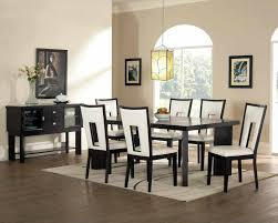Dining Room Tables White Black And White Dining Room Set Caruba Info