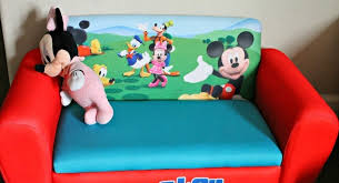 mickey mouse toddler chair with embroidered name