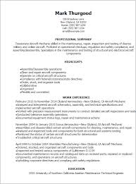 Welder Sample Resume by Professional Aircraft Mechanic Resume Templates To Showcase Your