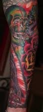 roses arm sleeve tattoo 28 colored full sleeve tattoos