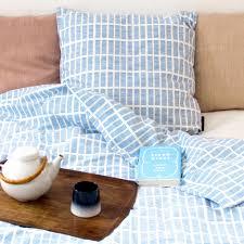 bed linen tile blue rosenbergcph