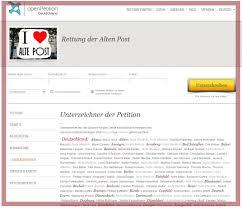 Post Bad Salzuflen Oelder Anzeiger Online Petition Zum Erhalt Der Alten Post