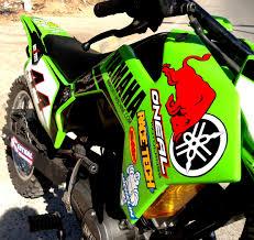 motocross bike stickers yamaha rxz dirt bike dirt machine custom motorcycles 350cc com