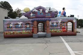 Halloween Inflatable Haunted House by Haunted House 3 Guys Entertainment 800 899 3866