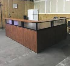 Reception Desk For Sale Used Stylish Modern Sleek Reception Desk In Our Used Office