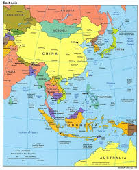 regional map of asia east asia map east asia mappery