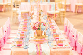 baby girl birthday themes charming princess themed baby girl birthday party inspiration 9