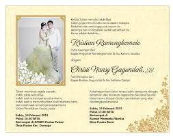 membuat undangan sendiri di rumah 11 desain undangan pernikahan kristen paling menarik undangan terbaru