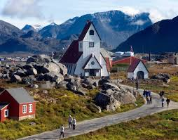 architecture in greenland from colorful wooden houses to