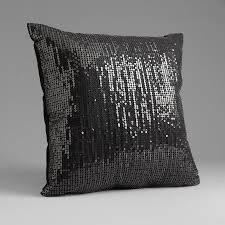 Sofia by Sofia Vergara Black Magic Sequin Decorative Pillow
