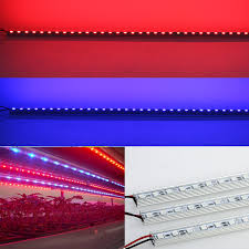 12v dc led grow lights 10pcs lot 0 5m 12v dc 10w led grow light strip for hydroponic plants