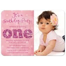 1 Year Invitation Birthday Cards 1 Year Birthday Party Invitations