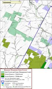 Green Ridge State Forest Camping Map by Catskill Mountain Club U0027s Catskill Region State Land Maps