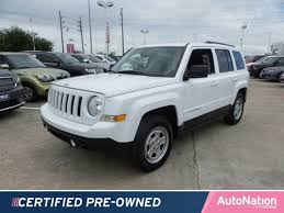pre owned jeep patriot 2017 jeep patriot sport for sale katy tx