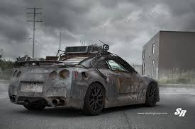 Gtr R36 2154 Nissan Gt R From Elysium Gets Custom Pur Wheels Autoevolution