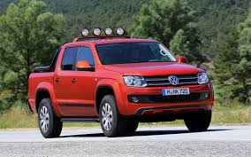 vw truck volkswagen would probably bring its amarok pickup to the u s if