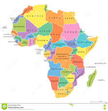 Morocco Map Africa by Morocco Political Map Stock Photo Image 73779890