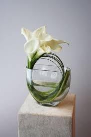 Square Vase Flower Arrangements Corporate Flower Arrangements Modern Arrangement Modern