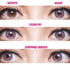 11 violet purple contact lenses images eye