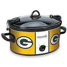 Bed Bath And Beyond Pressure Cooker Nfl Green Bay Packers Crock Pot Cook U0026 Carry 6 Quart Slow Cooker