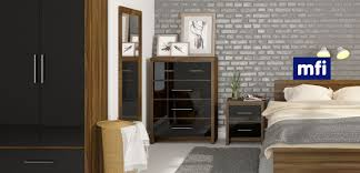 walnut bedroom furniture bedroom furniture black gloss and walnut video and photos