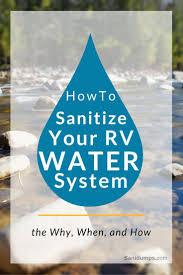 Rv Water Pump System Sanidumps How To Sanitize Your Rv Water System