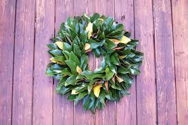 Wreath Diy How To Make A Fresh Magnolia Wreath Diy Diy Network Blog Made