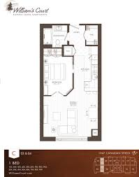 william u0027s court floor plans