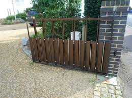 decorative wooden garden gate with lock for wood fetching bq and