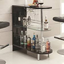 Wine Glass Storage Cabinet by Decorations Trendy Small Home Bar Design Inspiration Light Brown